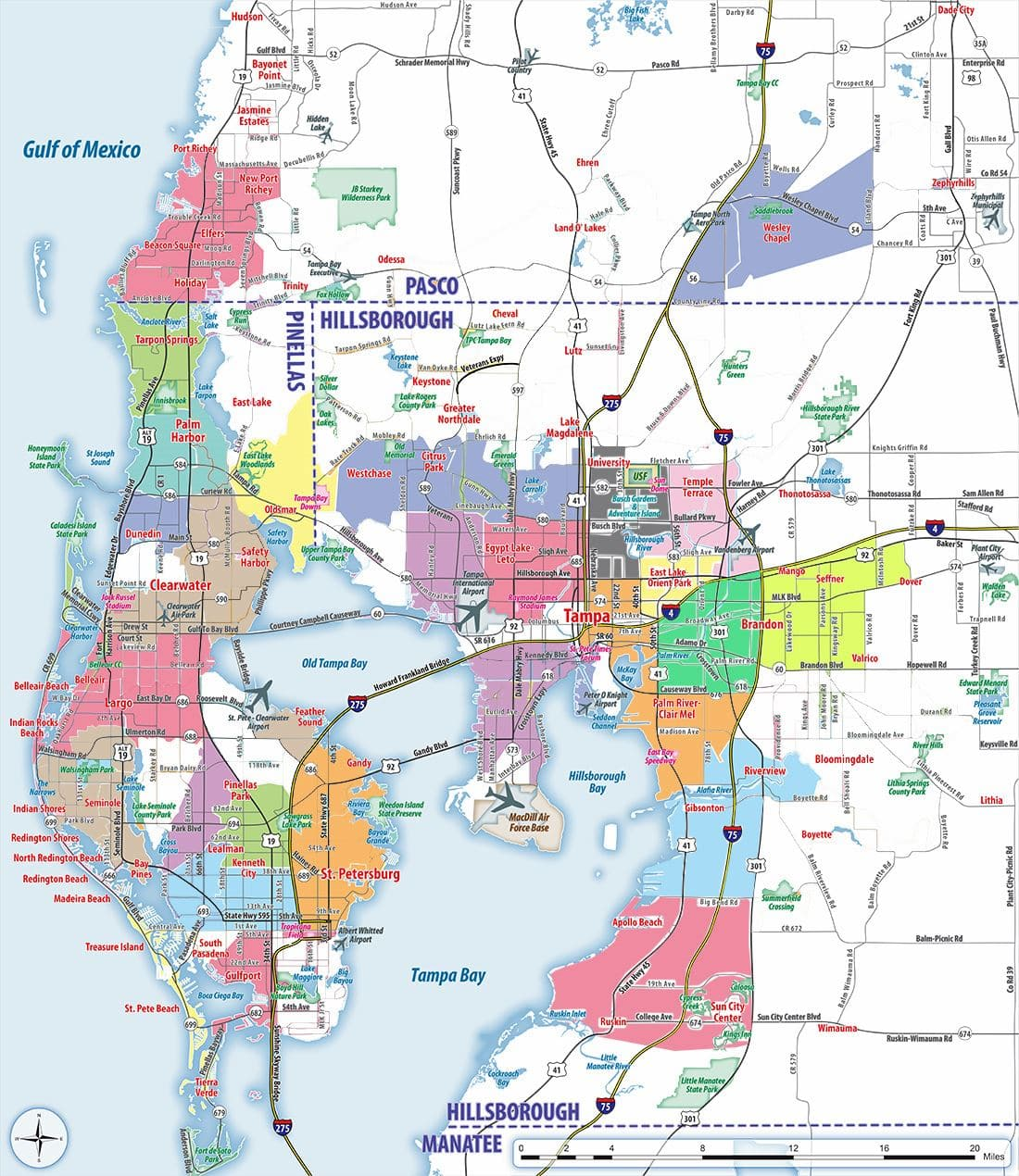 Tampa Fl Zip Code Map Tampa Zip Codes | Tampa Zip Code Map, Zip Codes Tampa, Florida
